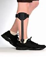 Fuss- und Sprunggelenk übergreifende Knieorthese