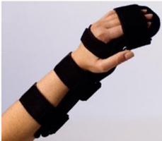 Handgelenkorthese mit Fingerauflage