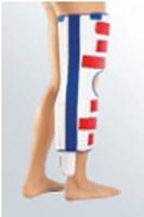 Knieorthese immobilisierend zur Entlastung des hinteren Kreuzbandes