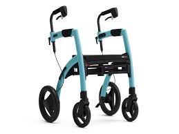 Gehhilfen - Rollator mit Rollstuhlfunktion
