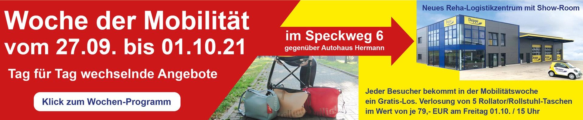 Woche der Mobilität vom 27.09. bis 01.10.21